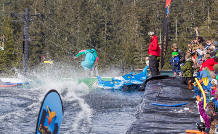 Slush Cup 2014 - Jump Out 1