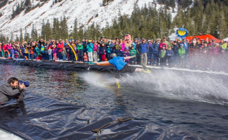 Slush Cup 2014 - One Ski