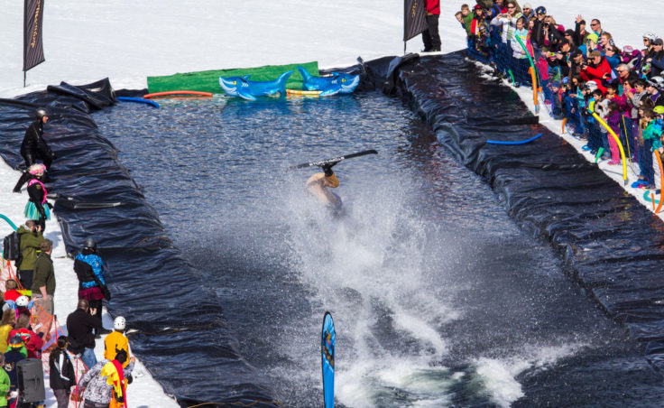Slush Cup 2014 - Splash 1