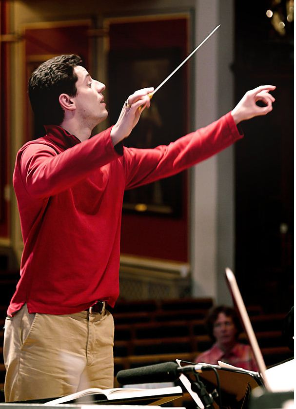 Conductor candidate Troy Quinn. (Photo courtesy Troy Quinn)