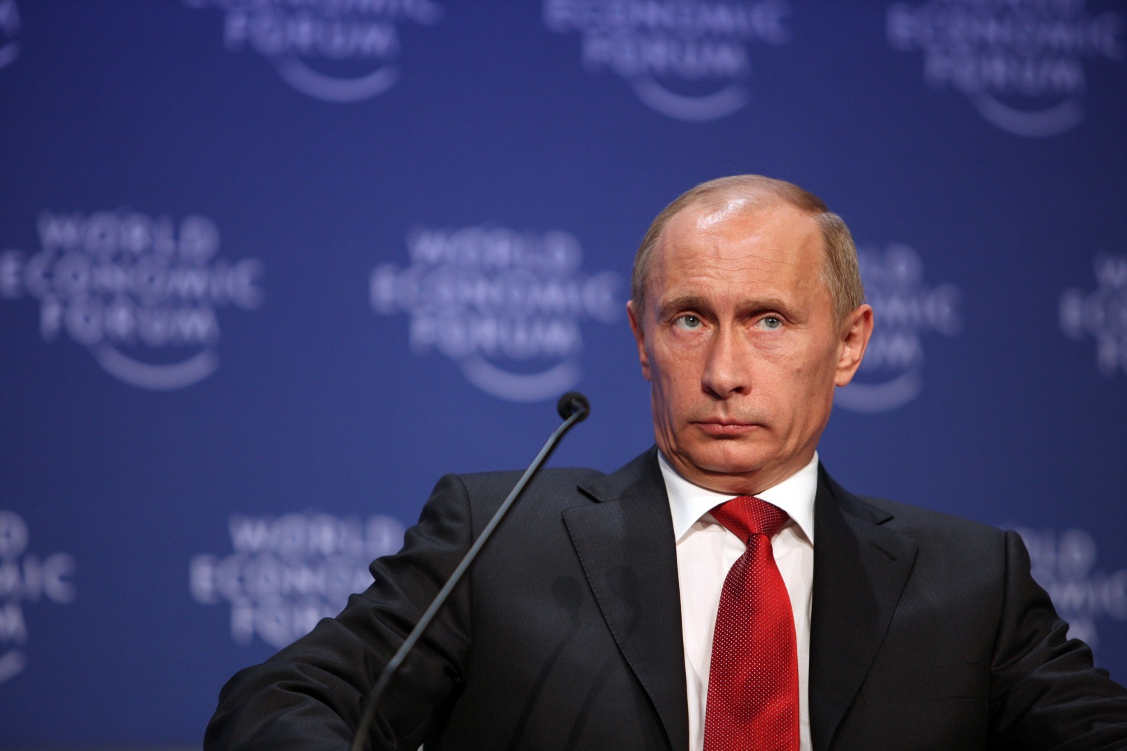 Vladimir Putin, Prime Minister of the Russian Federation at the World Economic Forum Annual Meeting in 2009. (Photo courtesy World Economic Forum)