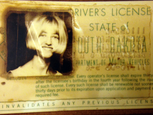 Cheryl Miller's driver's license was among the evidence collected from the car she and Pamela Jackson were last seen in. The two South Dakota girls disappeared in 1971. Now, authorities say it appears they accidentally drove into a creek. It wasn't until last year that low waters revealed the vehicle. South Dakota Attorney General's office/AP