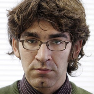 U.S. journalist Simon Ostrovsky in Moscow in 2004. He was reportedly released on Thursday after being held briefly by pro-Russian separatists in eastern Ukraine. (Alexander Nemenov/AFP/Getty Images)