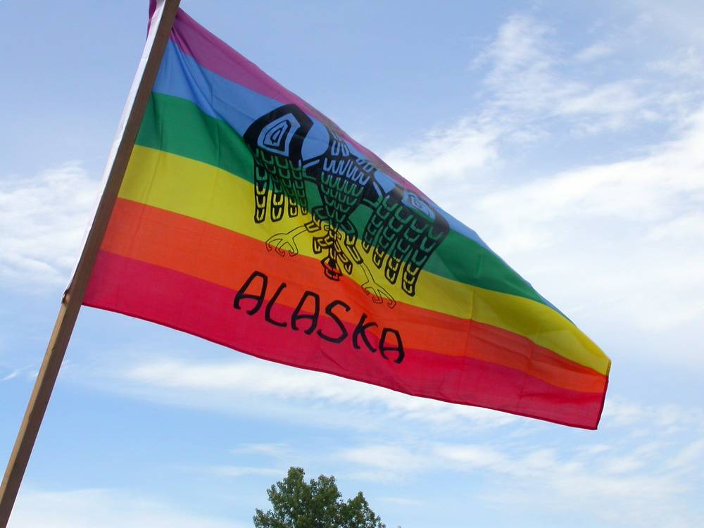 Alaska Pride Flag (Photo by Mel Green)