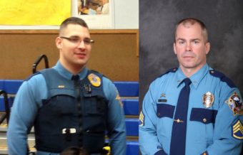 Alaska State Troopers Rich and Johnson