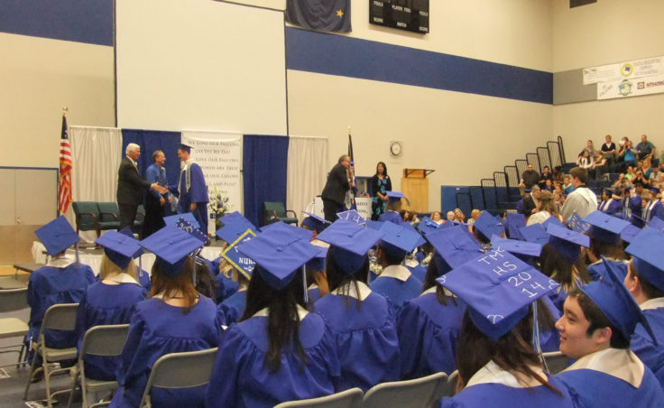158 students received their diplomas at TMHS. (Photo by Rosemarie Alexander/KTOO)