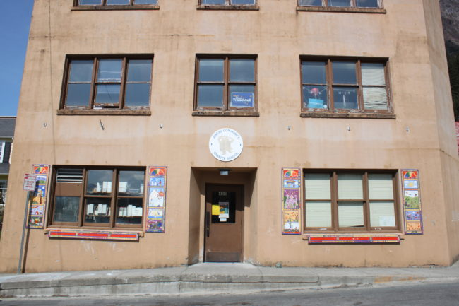 The Juneau Community Charter School wants to use part of the additional funding to improve its building. The school leases one and a half floors of commercial space downtown. (Photo by Lisa Phu/KTOO)