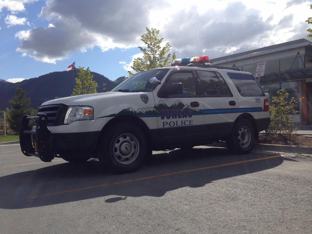 Juneau police vehicle