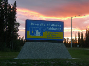 UAF is one of a few Land, Sea and Space Grant universities in the U.S. (Photo by Jimmy Emerson)