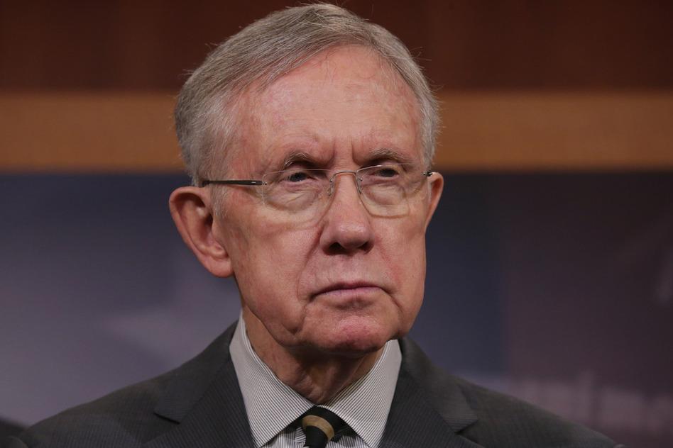 Senate Majority Leader Harry Reid, a Democrat from Nevada. Chip Somodevilla/Getty Images