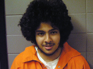 A photo provided by the U.S. Marshal's office shows terrorism suspect Adel Daoud, of Hillside, Ill. Daoud, a 20-year-old U.S citizen, has denied government allegations that he accepted a phony car bomb from undercover FBI agents in 2012, parked it by a Chicago bar and pressed a trigger. Uncredited/AP