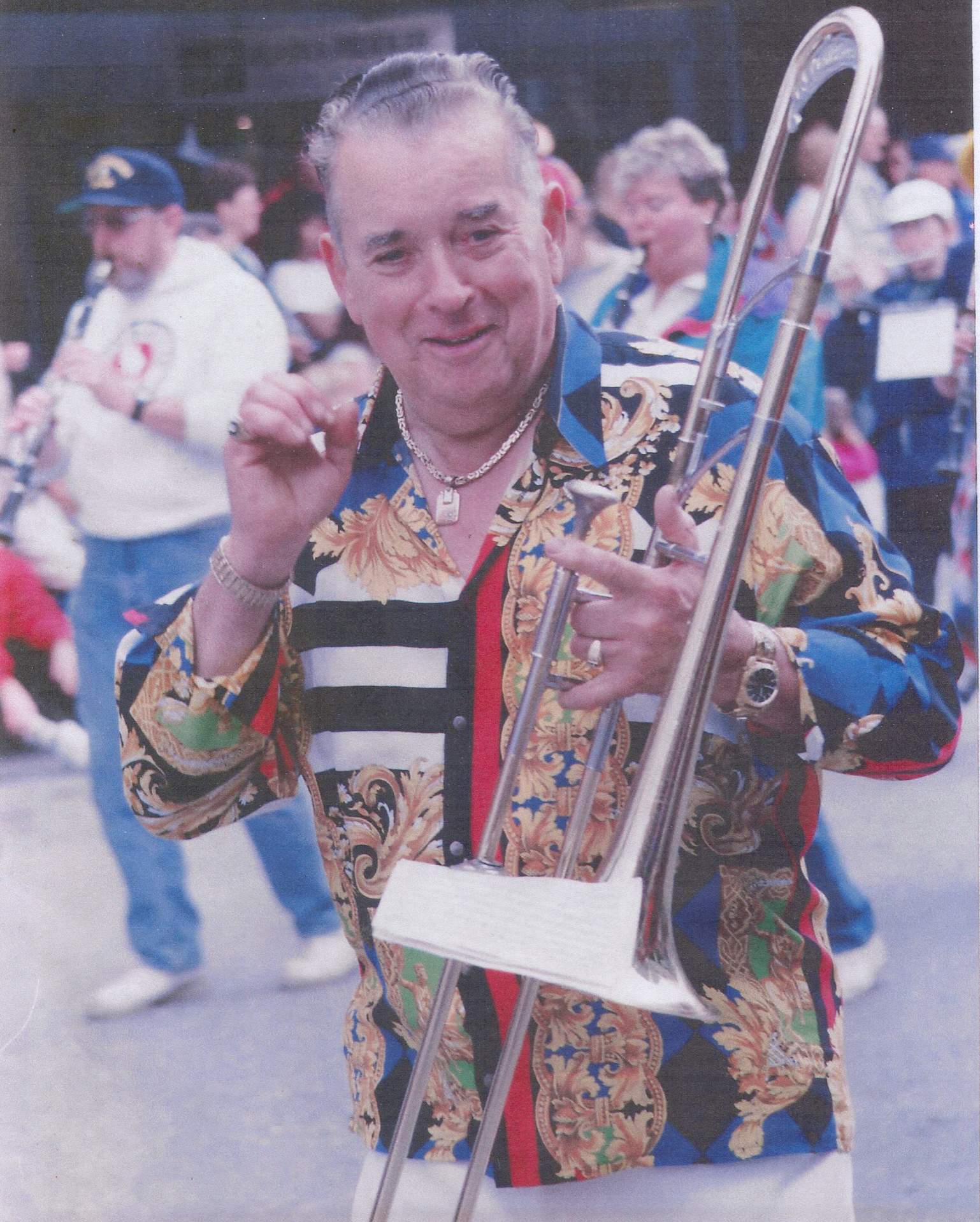 Dick Garrison, Juneau July 4th parade marshall