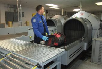 Juneau airport baggage scanning machines