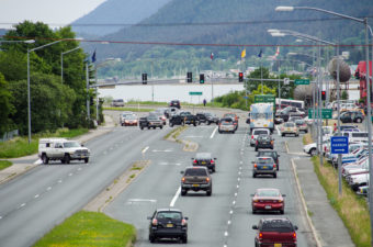 Traffic fines could be going up in Juneau. (Photo by Heather Bryant/KTOO)
