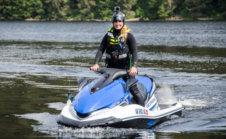 Shawn Alladio is a National Safe Boating Instructor. She started K38 Water Safety in 1989. (Photo by Heather Bryant/KTOO)