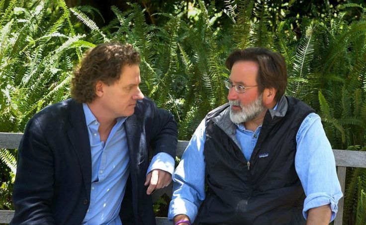 Richard Martinez and Peter Rodger in Santa Barbara on June 1, 2014. Simon Astaire
