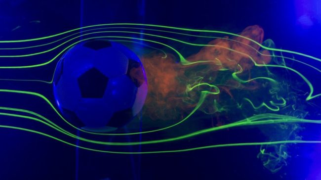 From an aerodynamic perspective, a traditional soccer ball is just as good as the new design. NASA's Ames Research Center