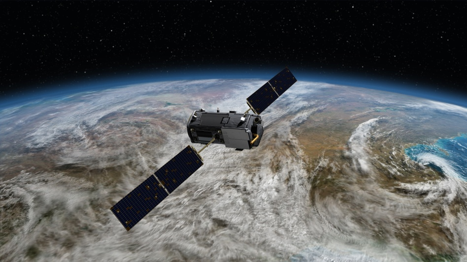 The Orbiting Carbon Observatory-2 will monitor carbon dioxide emissions. jhoward/NASA/JPL