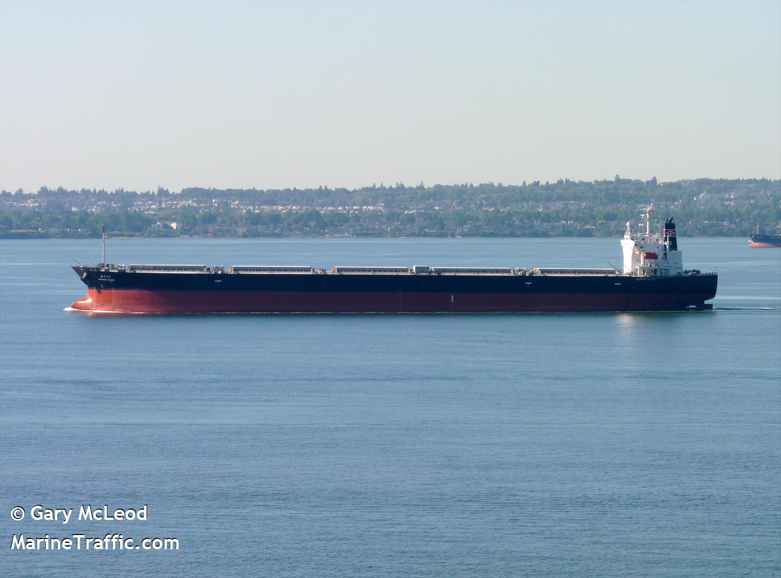 The bulk carrier Amakusa Island in Vancouver in 2010. (Photo courtesy Gary McLeod/MarineTraffic.com)