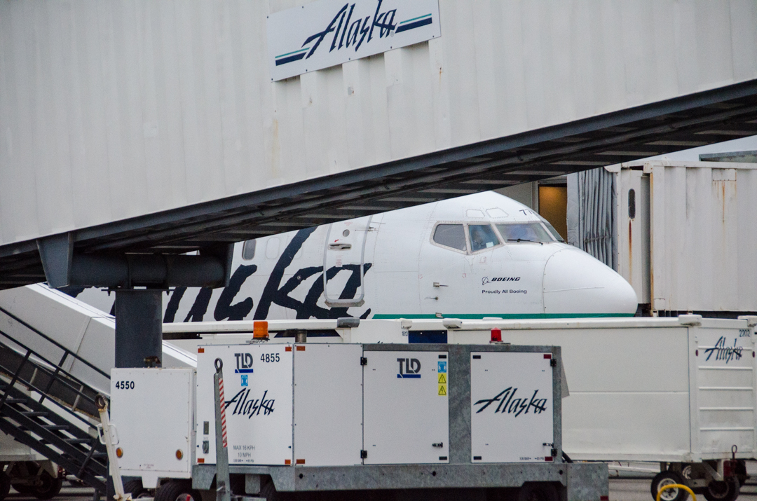 Alaska Airlines jet (Photo by Heather Bryant/KTOO)