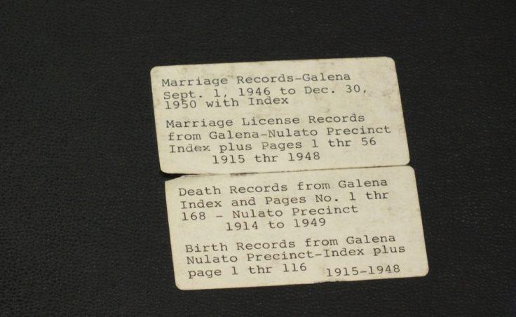 Galena Nulato record book