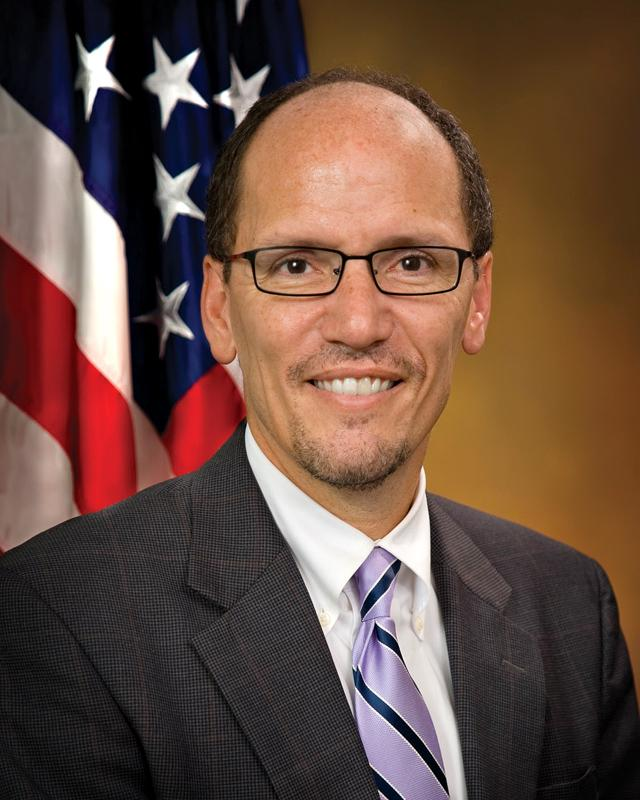 Secretary of Labor Thomas Perez. (Photo courtesy U.S. Department of Labor)