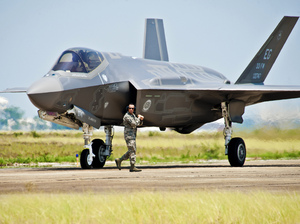 The U.S. Air Force F-35 Lightning II joint strike fighter. Samuel King Jr./U.S. Air Force/AP