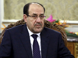 Embattled Iraqi Prime Minister Nouri al-Maliki has served since 2006. He will be succeeded by Haider al-Abadi. Ebrahim Noroozi/AP