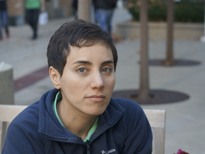 Maryam Mirzakhani, a professor at Stanford University, is the recipient of the 2014 Fields Medal, the top honor in mathematics. She is the first woman in the prize's 80-year history to earn the distinction. Maryam Mirzakhani/Stanford University