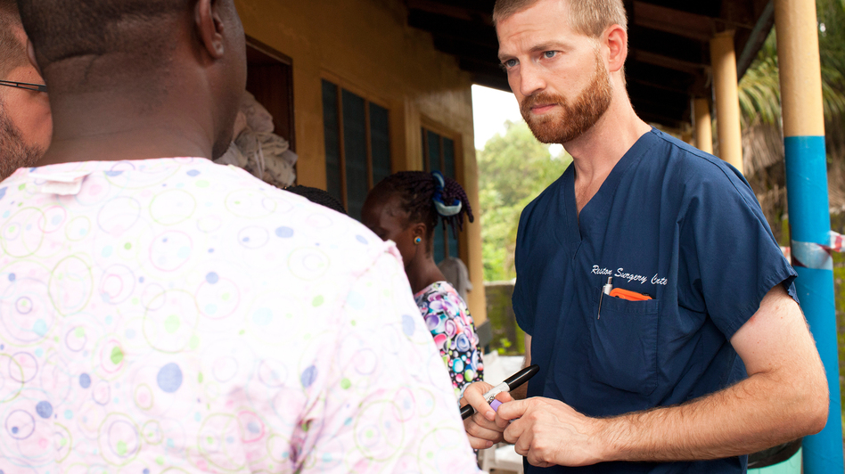Less than a month after being airlifted from Liberia, Dr. Kent Brantly will be released from the hospital where he's been treated for Ebola. Joni Byker/Courtesy of Samaritan's Purse
