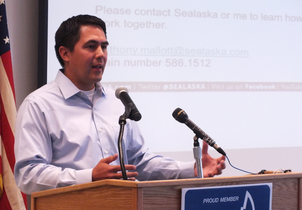 Anthony Mallott took over as CEO of Sealaska Corp. in June. (Photo by Casey Kelly/KTOO)