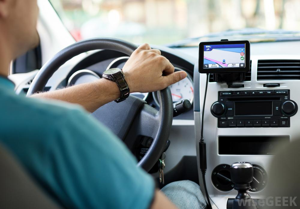 Air Force officials say motorists may encounter problems with their vehicle's GPS unit if they're driving near any of the three military air bases during the interference testing. Other devices that use GPS also may be affected. (Credit wisegeek.org)