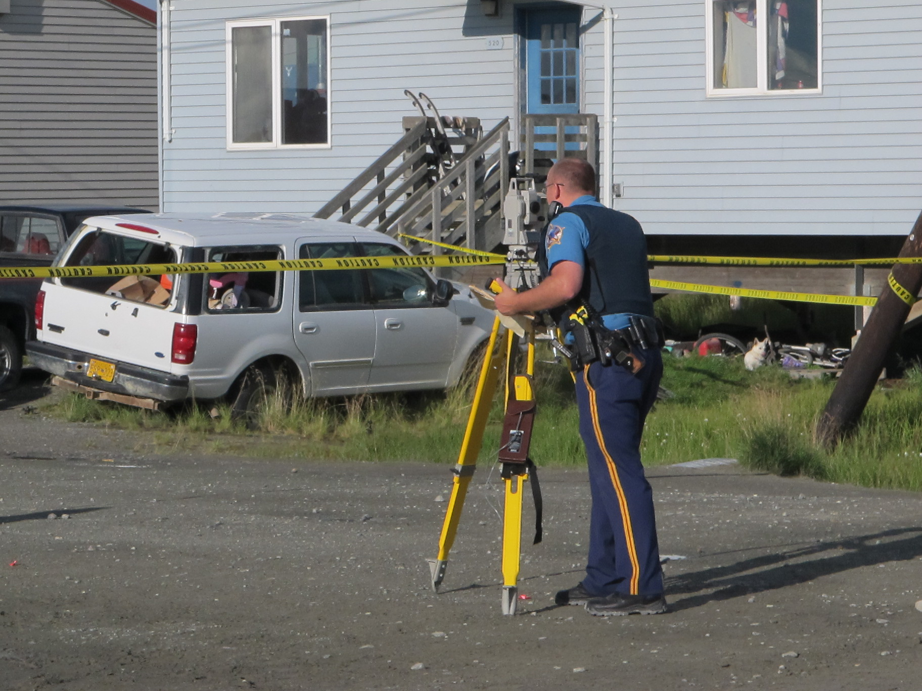 Investigators are looking into a shooting that happened Friday morning in Bethel. (Photo by Daysha Eaton / KYUK)