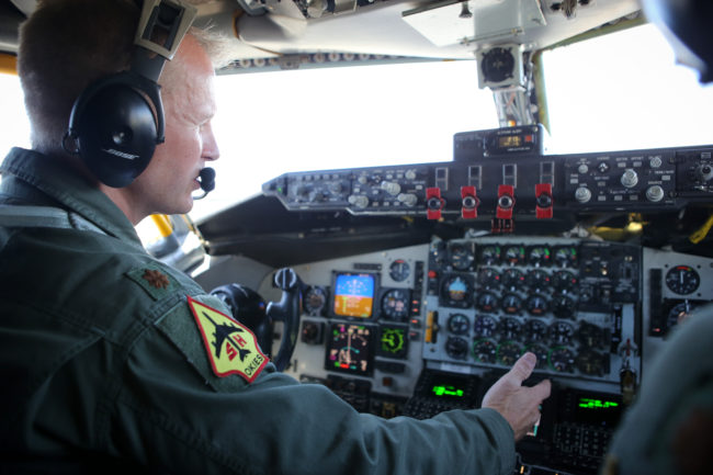 Air Force pilots will periodically be flying without the navigational help of a GPS system at times during Red Flag training exercises being conducted out of Eielson Air Force Base. (Credit DVIDS)
