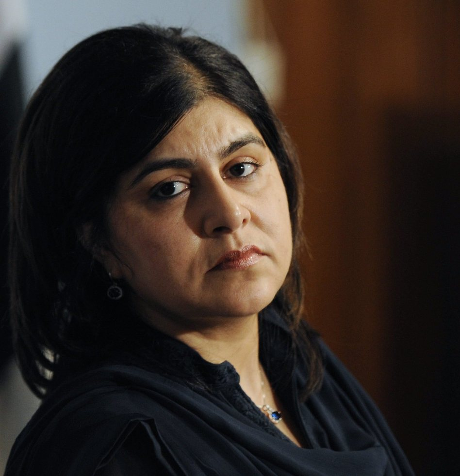 Sayeeda Hussain Warsi, British Senior Minister of State at the Foreign and Commonwealth Office, in 2013. T. Mughal /EPA /LANDOV