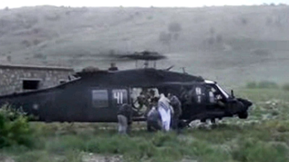 When it carried out a tense prisoner exchange in May, the Pentagon misused nearly $1 million, the Government Accountability Office says. Army Sgt. Bowe Bergdahl was taken out of captivity in Afghanistan, as seen in this image from video obtained from the Voice Of Jihad Website. AP