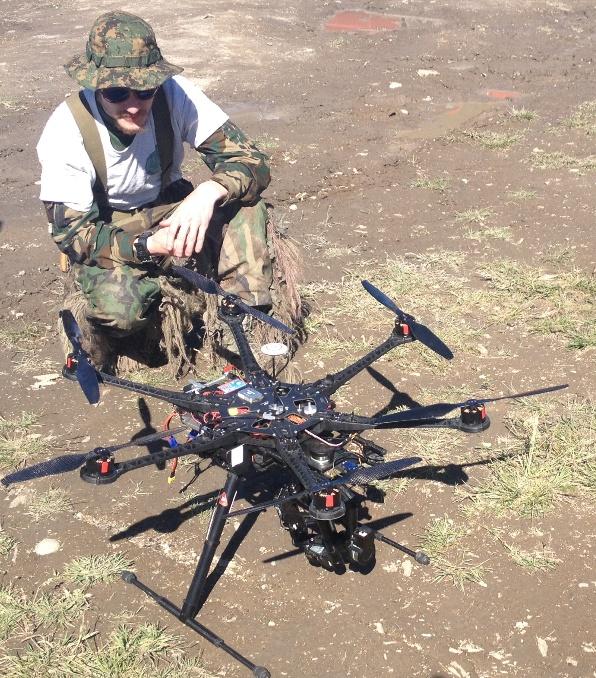 militia drone