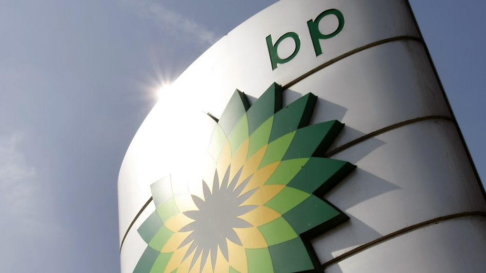 BP's third-quarter earnings were better than expected. (Alastair Grant/AP)