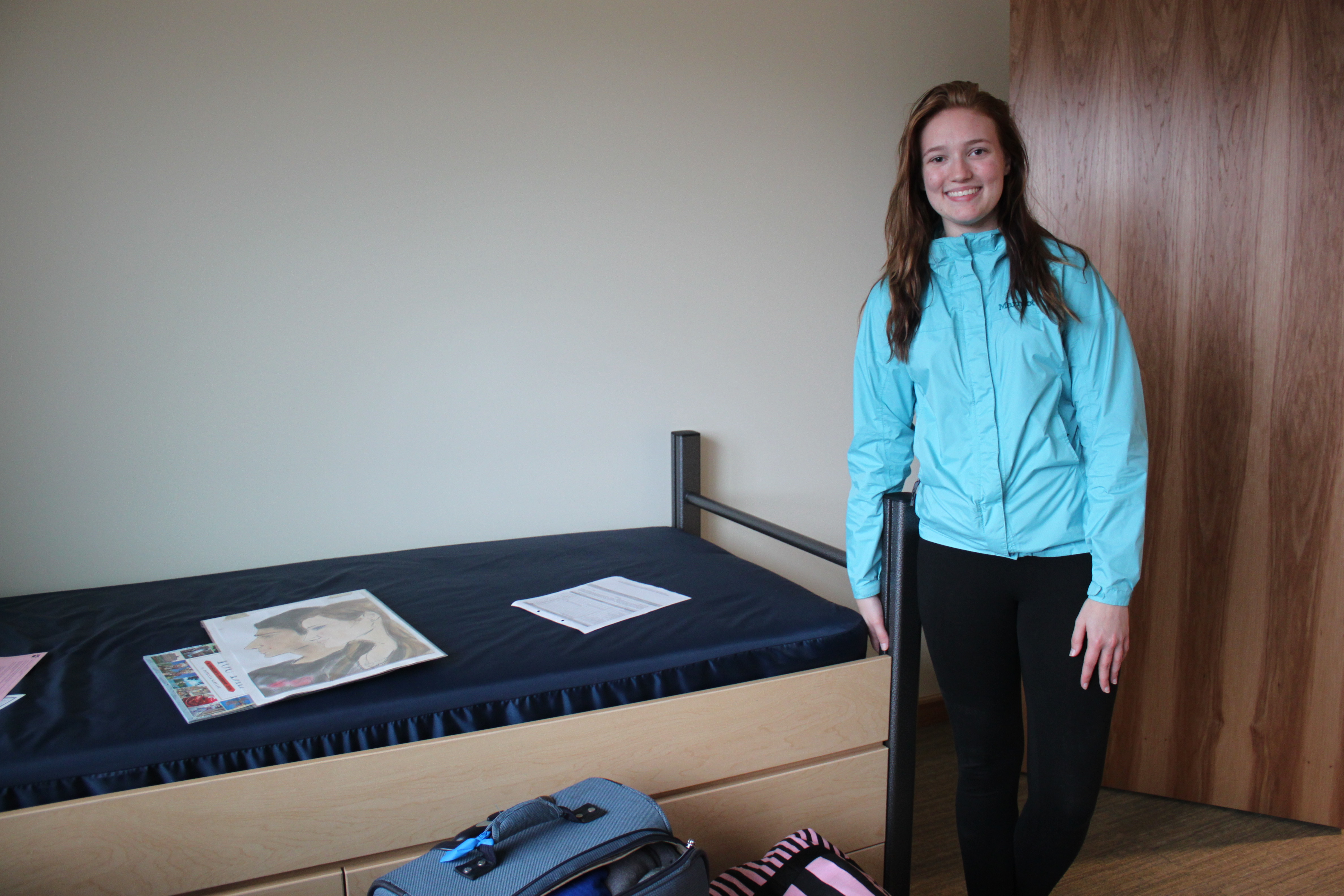Delaney Jones is from Delta Junction. She's in UAS's pre-radiology program. (Photo by Lisa Phu/KTOO)