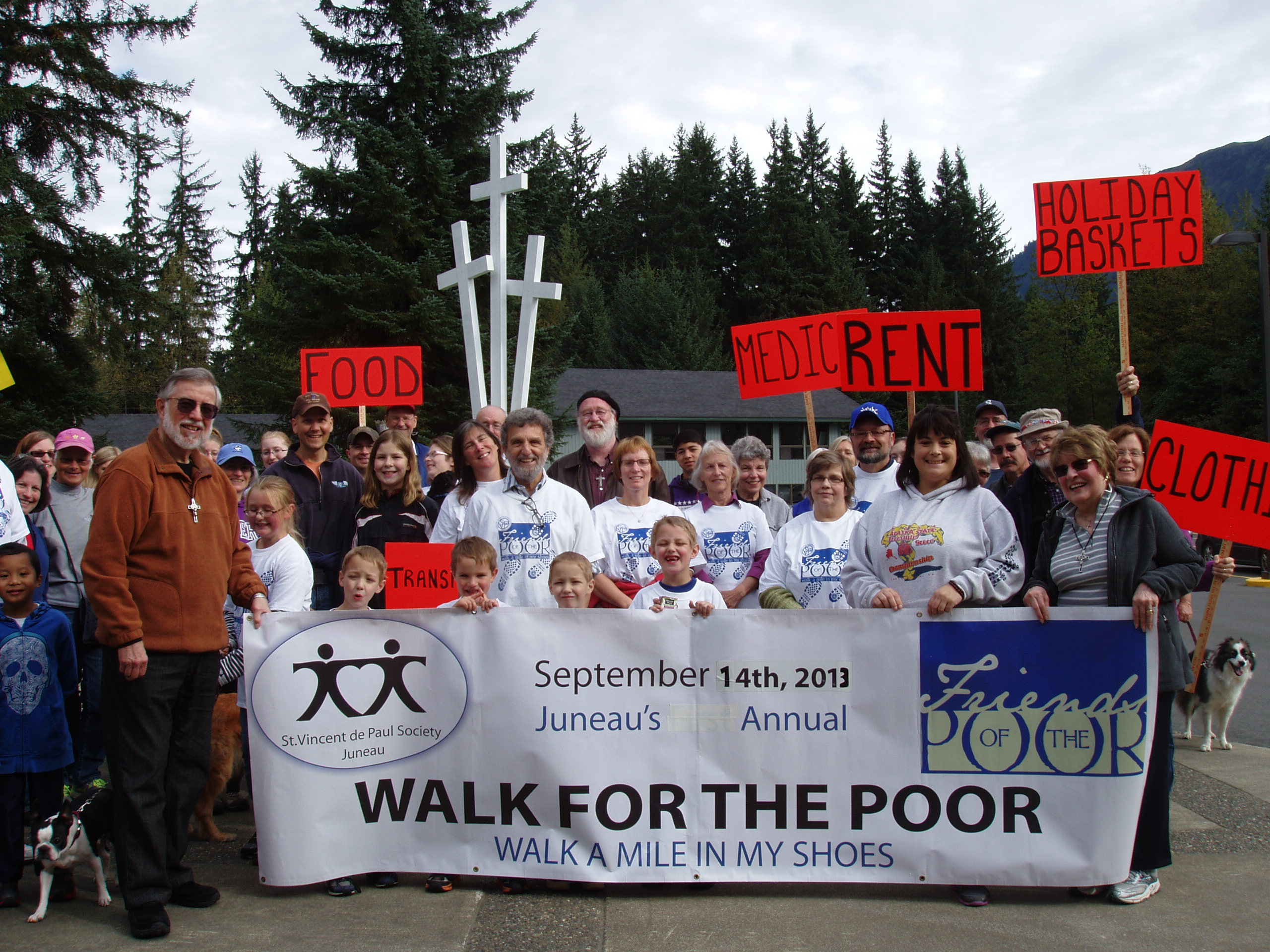 Walk for the Poor 2013 (Photo courtesy of St. Vincent de Paul)