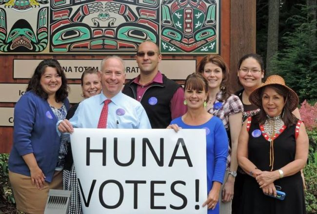 (Photo courtesy of Nancy Barnes/Huna Totem Corp.)