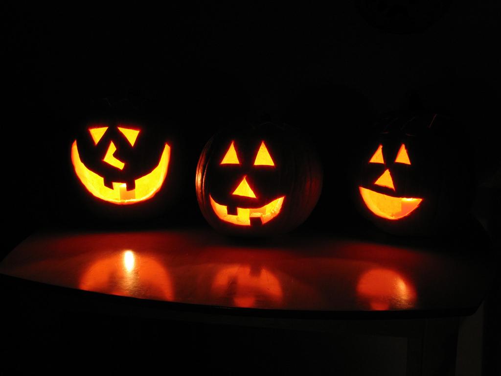 Halloween pumpkins. (Creative Commons photo by lobo235