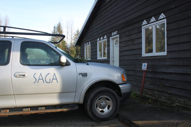 SAGA is in the process of moving out of its main office and shop on LaPerouse Ave. in Juneau. (Photo by Lisa Phu/KTOO)
