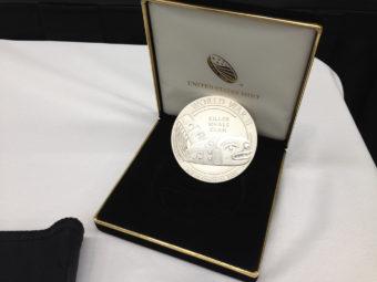 Tlingit code talkers medal