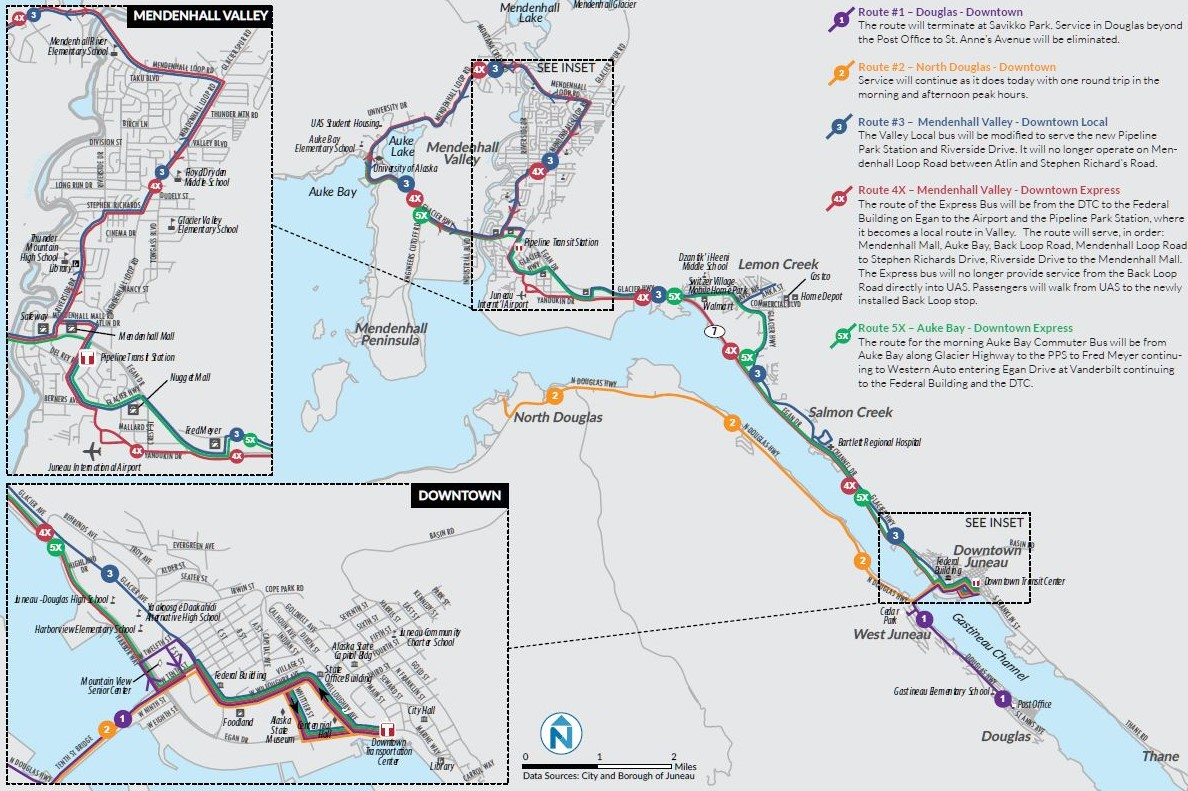 Public meetings on Juneaus proposed Capital Transit plan start Monday