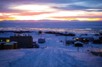 Winter in Koyuk. (KNOM file photo)