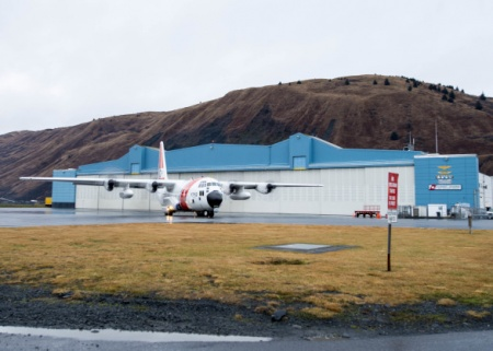 C-130 from Air Station Kodiak