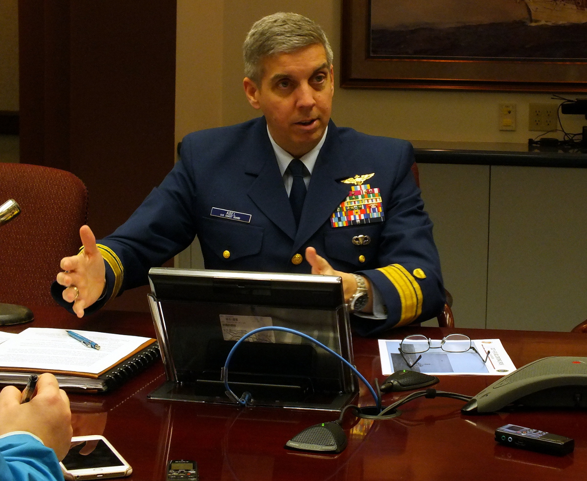Rear Admiral Daniel Abel