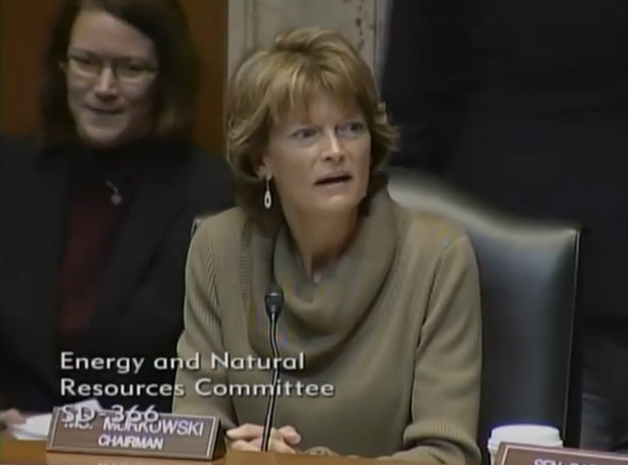 Murkowski energy committee