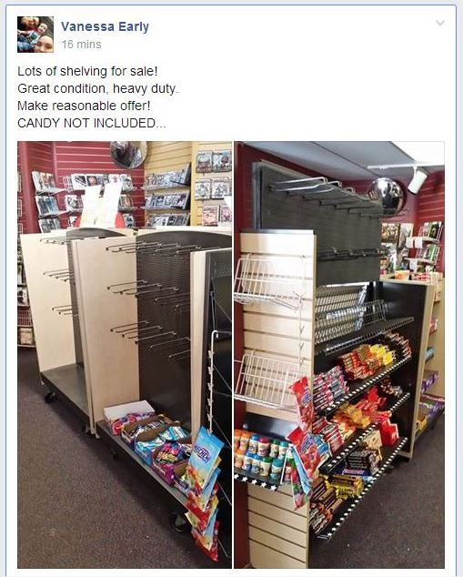 Blockbuster manager Vanessa Early has been posting inventory on the Facebook page Juneau Buy Sell Trade. The in-store sale at the Valley branch starts Friday.
